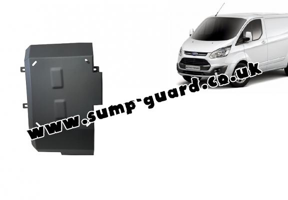 Steel AdBlue tank guard for Ford Transit