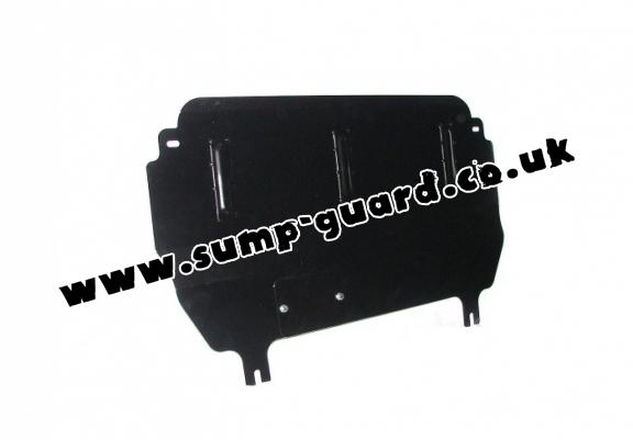 Steel sump guard for Citroen C3