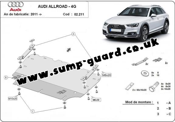 Sump Guard Audi All Road