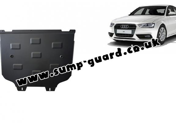 Steel gearbox guard for Audi A4 B8