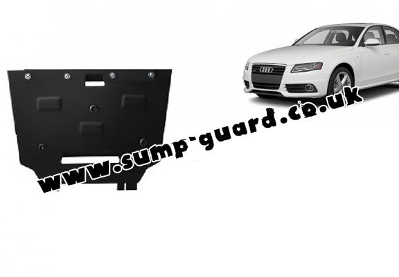Steel gearbox guard for Audi A4 4 B8