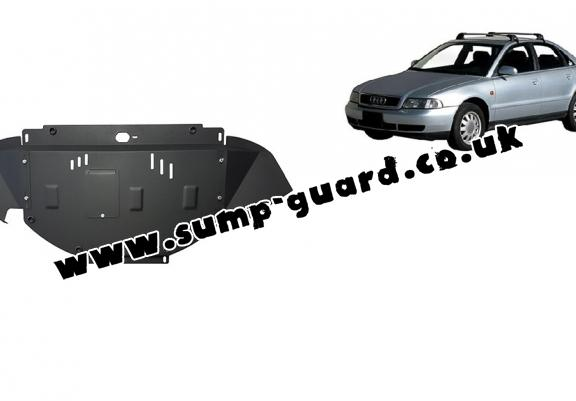 Steel sump guard for Audi A4  B5