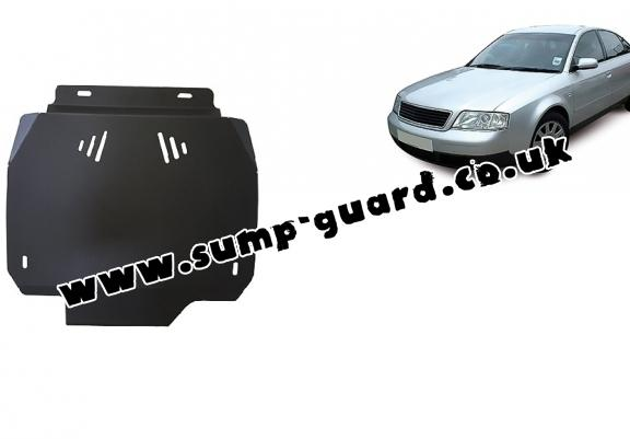 Steel automatic gearbox guard forAudi A6