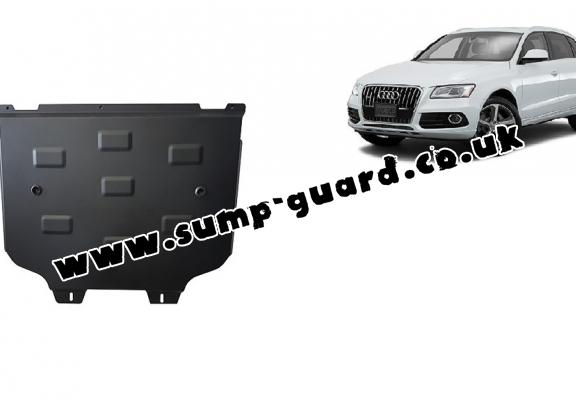 Steel gearbox guard for Audi Q5