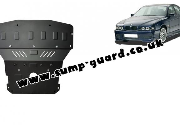 Steel sump guard for BMW Seria5 E39