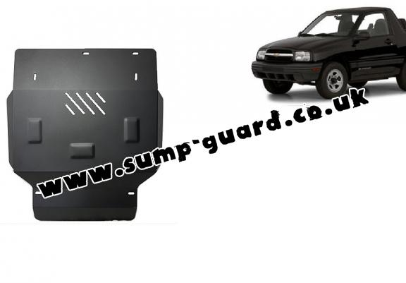 Steel sump guard for Chevrolet Tracker