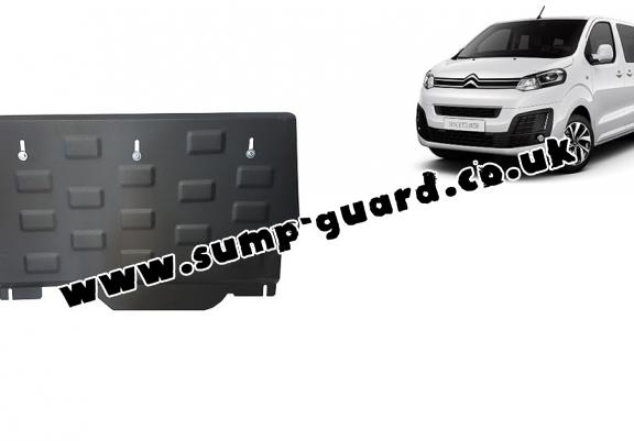 Steel sump guard for Citroen Spacetourer Panel Van