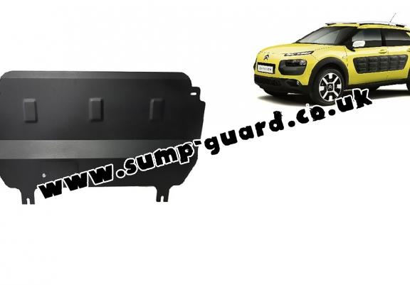 Steel sump guard for Citroen C4 Cactus
