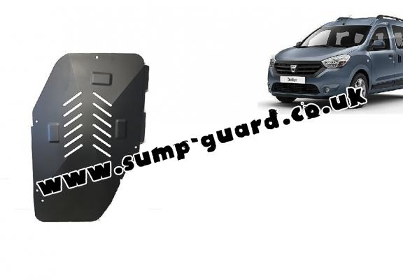Steel fuel tank guard  for Dacia Dokker