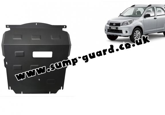 Steel sump guard for Daihatsu Terios