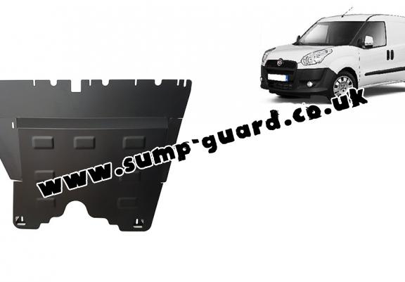 Steel sump guard for Fiat Doblo