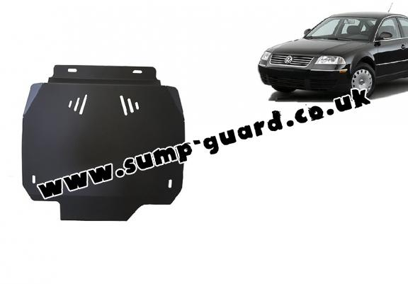 Steel automatic gearbox guard forVW Passat