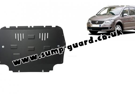 Steel sump guard for Volkswagen Touran