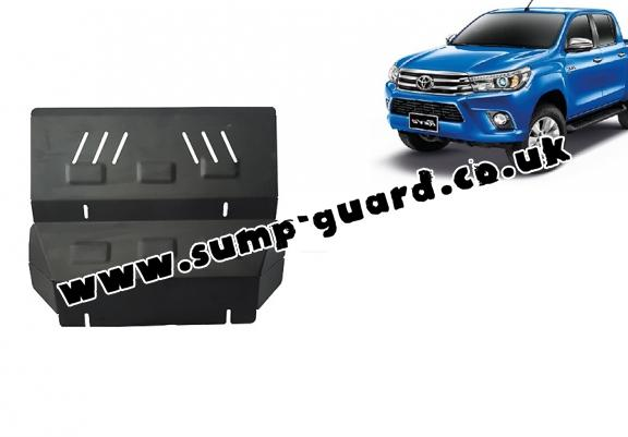 Steel radiator guard for Toyota Hilux Revo