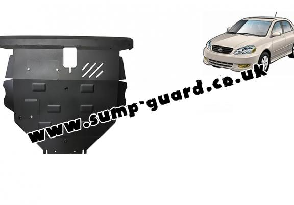Steel sump guard for Toyota Corolla