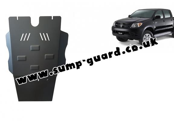 Steel differential guard for Toyota Hilux