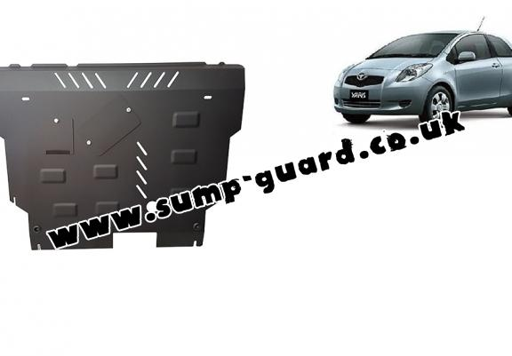 Steel sump guard for Toyota Yaris - diesel