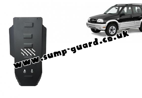 Steel gearbox guard for Suzuki Grand Vitara