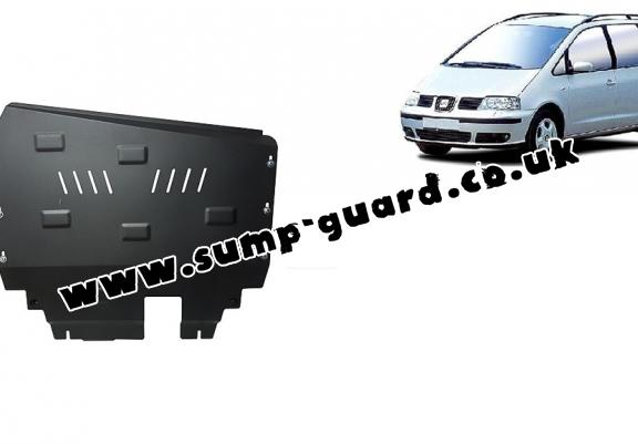 Steel sump guard for Seat Alhambra