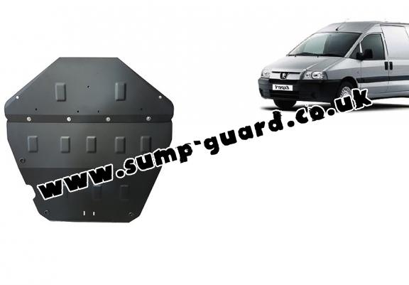 Steel sump guard for Peugeot Expert