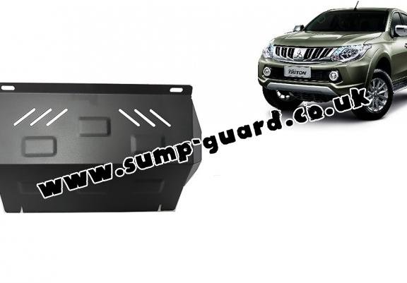 Steel radiator guard for Mitsubishi L200