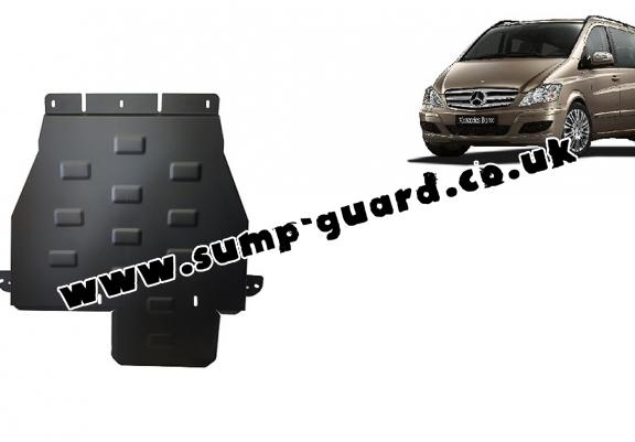Steel gearbox guard for Mercedes Viano W639 - 4x4