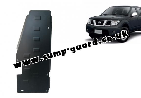 Steel fuel tank guard  for Nissan Navara D40