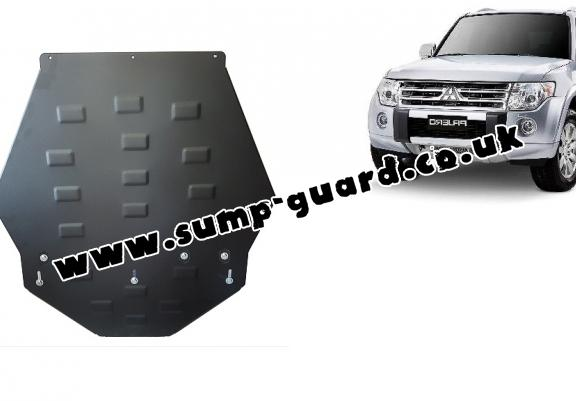Steel gearbox guard for Mitsubishi Shogun 4 (V80, V90)