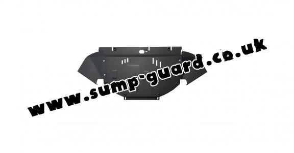 Steel sump guard for Audi A4  B6