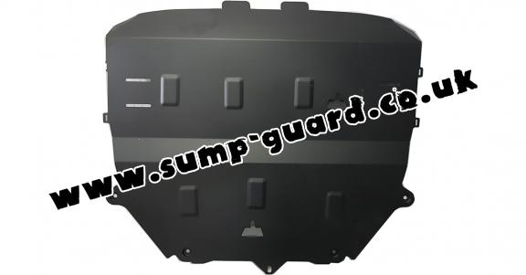 Steel sump guard for Audi TT