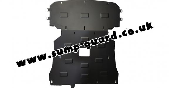 Steel sump guard for BMW Seria 1 E81;E87