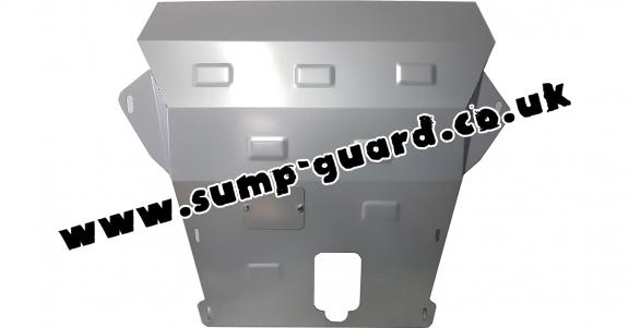 Steel sump guard for Dacia Duster - 2,5 mm