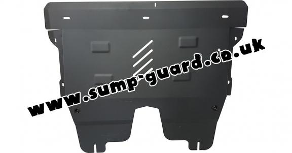 Steel sump guard for Fiat Tipo