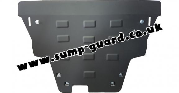 Steel sump guard for Jeep Renegade