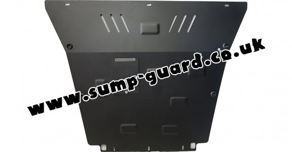 Steel sump guard for Ford Mondeo 1,2