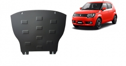 Steel sump guard for Suzuki Ignis