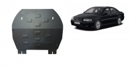 Steel sump guard for Volvo S80