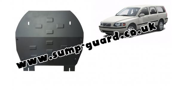 Steel sump guard for Volvo V70