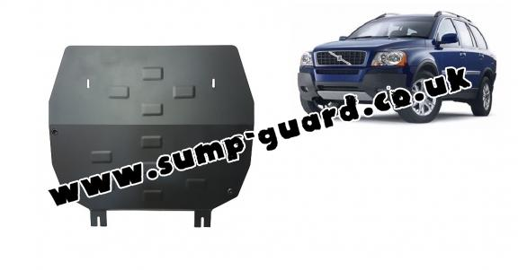 Steel sump guard for Volvo XC90