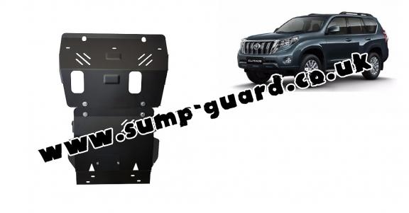Steel sump guard for Toyota Land Cruiser 150