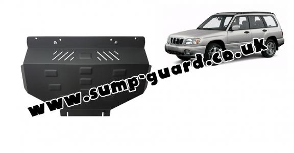 Steel sump guard for Subaru Forester 1
