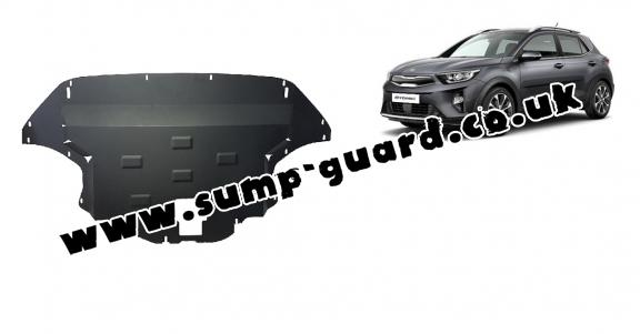 Steel sump guard for Kia Stonic