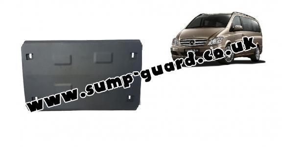 Steel sump guard  for Mercedes Viano W639 - 2.2 D 4x2