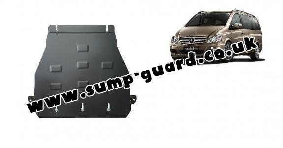 Steel gearbox guard for Mercedes Viano W639 - 2.2 D 4x2