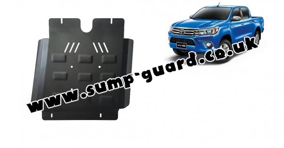 Steel gearbox guard for Toyota Hilux Revo