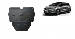Steel sump guard for Renault Espace 5