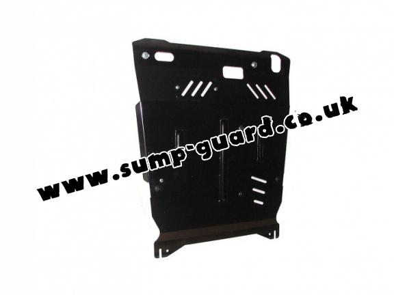 Steel sump guard for Peugeot 4007
