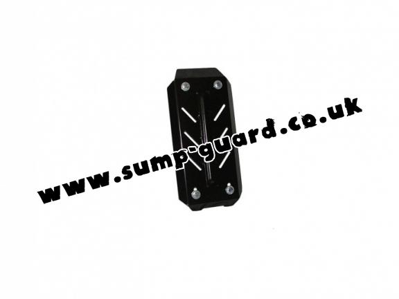 Steel differential guard for Fiat Sedici