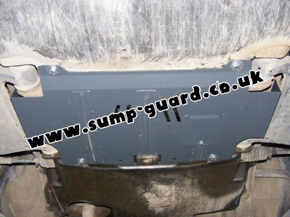 Steel sump guard for Mercedes E-Classe W210