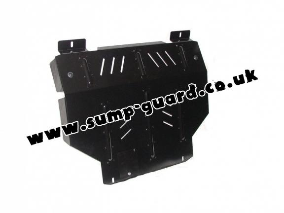 Steel sump guard for Land Rover Freelander